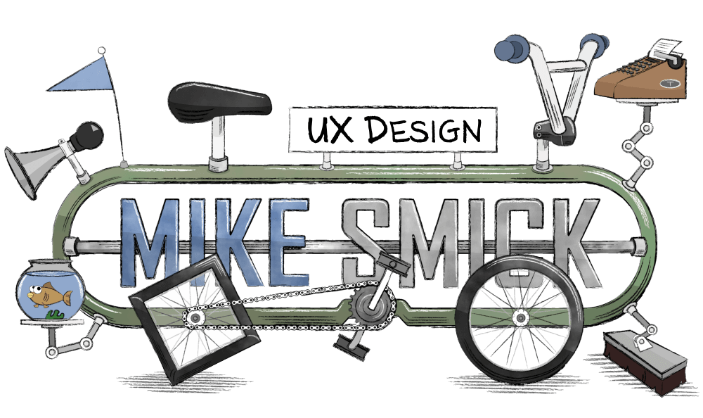 Mike Smick UX Sketch Bicycle Banner Image